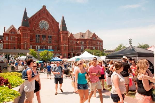 Summer festival at Cincinnati Music Hall