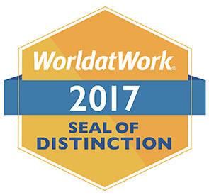 World at Work seal of Distinction image