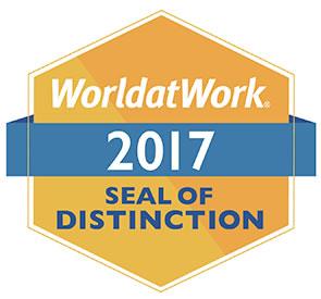 World at Work seal of Distinction image
